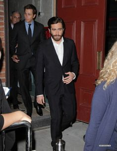Love a man in a suit with a beard
