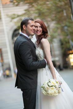 Modern Sydney Wedding with Graceful Elegant Style | Matt Reed Photography on @polkadotbride via @aislesociety