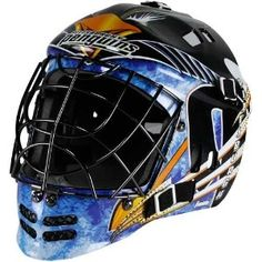 Pittsburgh Penguins Street Hockey Goalie Mask