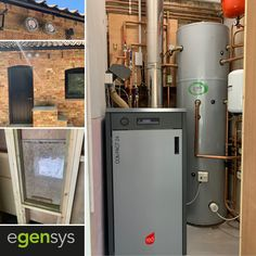 MCZ Compact 24 Biomass wood pellet boiler installed with a 300L buffer cylinder and 4.5 tonne bespoke pellet hopper. This system supplies two new holiday lets and an office in Lincolnshire. Biomass Boiler, Wood Pellets, Tonne, Bespoke, Compact, Kitchen Appliances, Holiday, Taylormade, Diy Kitchen Appliances