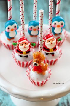 617 Best Christmas Cake Pops Balls Images On Pinterest Christmas