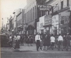 Downtown Augusta, late 1940s or early 1950s