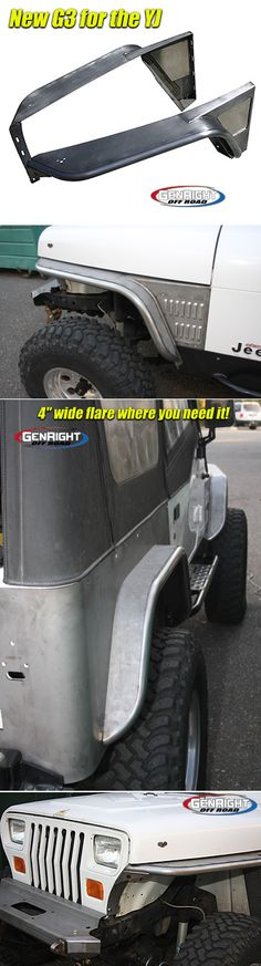 Something I would like to do for my husband so that his Jeep doesn't have those stupid plastic fender flairs anymore