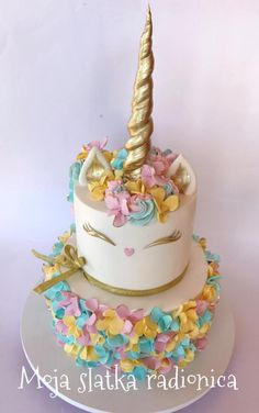 Unicorn cake by Branka Vukcevic
