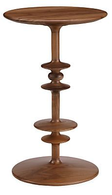 Our Parks accent tables are handcrafted from solid wood on the same machines that manufactured spools and bobbins in the mid-1850s. Beautiful on their own or in groups, these versatile tables add unexpected shape to any room in your home at a great value.