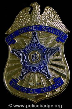 Badge US Secret Service by dynamicentry122, via Flickr