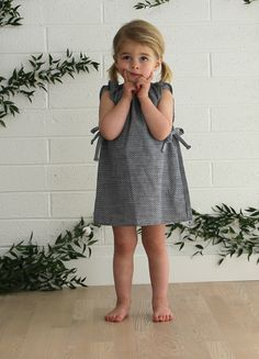 Willa Dress in Woven Dot by Mabo Clothier. I want every single piece!