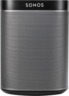 SONOS - PLAY:1 Wireless Speaker for Streaming Music - Black - Front Zoom