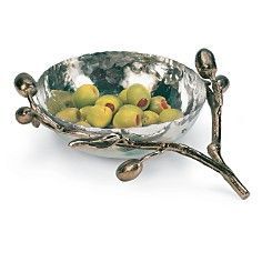 "Michael Aram ""Olive Branch"" Dish"