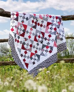 Combining two classic quilt blocks is a fantastic way to bring new life to the patterns you've known for years! Click the link in the…