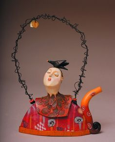 teapot by laura balombini. Handle