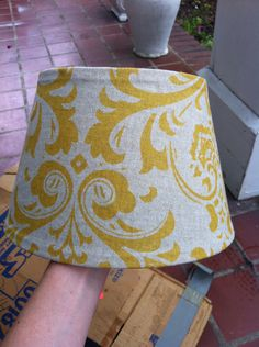 Cover living room lamp shade