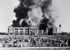March 25, 1914 Texas A&M first administration building burnt down.