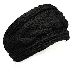 Wrapables Thick Cable Knit Headband