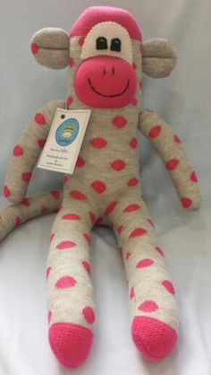 Sock Monkey by Loobys