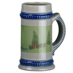 Christmas Tree and Present's Stein