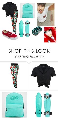 """""""annie 13 (date with jc caylen)"""" by annie-hall-barton ❤ liked on Polyvore featuring Hallhuber and Vans"""