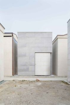 Family Chapel - EXiT architetti associati. The most thoughful piece of architecture I think I've ever come across. Read the convo between design and client.