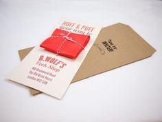 Cute way to wrap a balloon invite... Pork Shop Balloon Invitation by Alex Kwan, via Behance