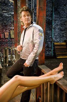 "..._""I'm not a cowboy, Pam... I'm a stuntman."" Kurt Russell as Stuntman Mike in 'Death Proof' 2007"