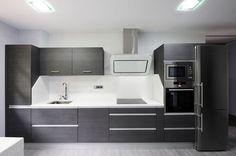cocina comedor con muebles de melamina - Buscar con Google