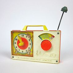 Fisher Price Hickory Dickory Clock 1971