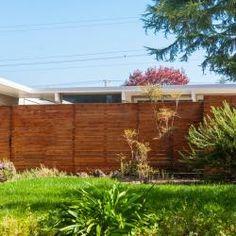 Eichler Fence Ideas | Mid-Century Modern Fences | Fence Pictures, Marin Modern, Eichler For Sale