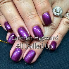 Amore Ultima gel nails with Cuccio Veneer