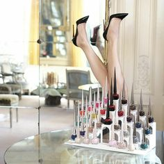 All together now! Discover your colour with #BeauteLouboutin. #Padgram