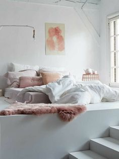 Décoration : Chambre romantique - All About Room, Interior, Bedroom Design, Home Decor, Bedroom Furniture, Feminine Bedroom, Interior Design, Bedroom, Interior Design Bedroom