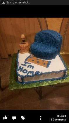 Marc's moving out cake