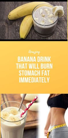 Banana Drink That Will Burn Stomach Fat Immediately Body Workout At Home, Fitness Workout For Women, At Home Workout Plan, Natural Health Tips, Health And Beauty Tips, Venus Holes, Mimosa Punch, Food For Glowing Skin, Smoothie Recipes