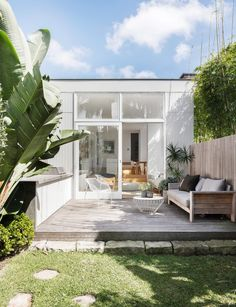 Expert tips on how to add a room to your existing floor plan Solar Powered Outdoor Lights, Add A Room, Buy Plants Online, Building Raised Garden Beds, Outdoor Heaters, Outdoor Lighting, Outdoor Decor, Australian Homes, Terrace Garden