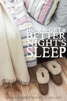 Better Night Sleep   Good Night Sleep Tips   Sleeping Tips   Sleep Better and Faster via lwsl #lifehacks #tipsandtricks #sleephelp