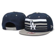 New Era MLB Los Angeles Dodgers Snapback Hats Caps Navy 3621! Only $7.90USD