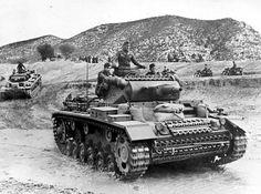 Afrika Korps tanks