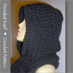 Hooded Scarf Crochet