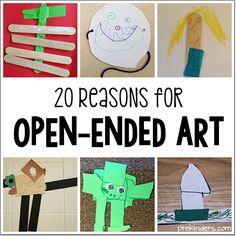 20 Reasons for Open Ended Art
