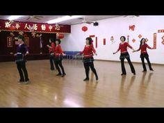 Cry Cry Cry -Line Dance (Demo & Teach) - YouTube