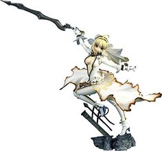 Souyokusha FateExtra CCC Saber Bride PVC Figure 17 Scale ** Want to know more, click on the image.