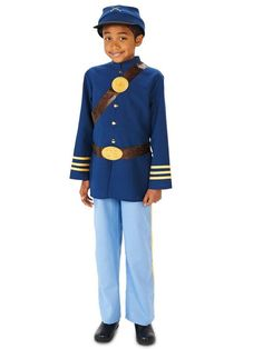 Lee Deluxe Child Costume Civil War Military General Robert E