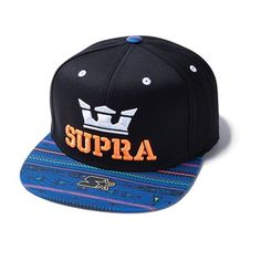 GORRA ABOVE STARTER BLACK BLUE SUPRA 8b7753fed36