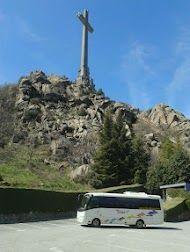 Minibus de visita en el Valle de los Caidos, Madrid http://minibuses.mobi desde $210
