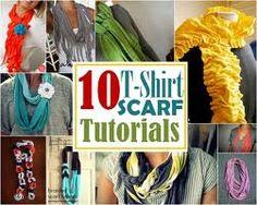 braided t shirt scarf - Google Search