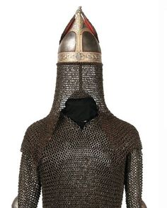 Circassian Cherkess Chain mail and Helmet
