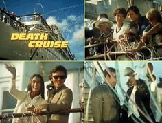 Death Cruise (1974) Several couples are notified that they have won an ocean cruise, but they actually have been lured onto a ship so that they can be murdered. Richard Long, Polly Bergen, Kate Jackson, Tom Bosley. movie of the week