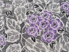floral pattern    Retro Age Vintage Fabrics by retro age vintage fabrics, via Flickr