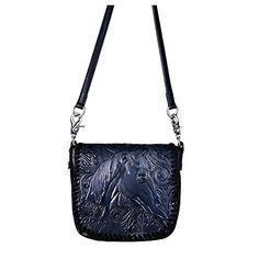 Montana West Leather Cross Body Bag Purse Western Tooled Horse Head Small Handbag Handbagshaven Has On Las Bags And