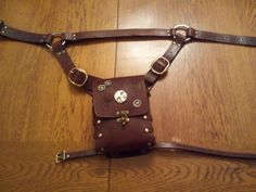 Leather Holster/Hip Bag by TwoGentlemenoFortune on Etsy, $145.00