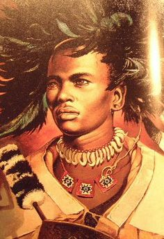 By 1818 a new leader Shaka gained authority among the Nguni people. This leader created a formidable military force which was organized on lineage. Shaka was assassinated in